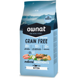 Ownat/Maxima grain free Adult chat 3 Kg