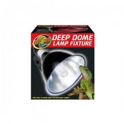 Plafonnier Deep dome lampe fixture Terrarium Zoomed