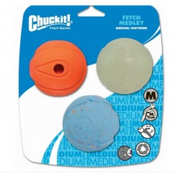 Fetch Medley balles ChuckIt Medium