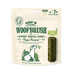 Woofbrush Small friandise dentaire Lily's Kitchen X 7