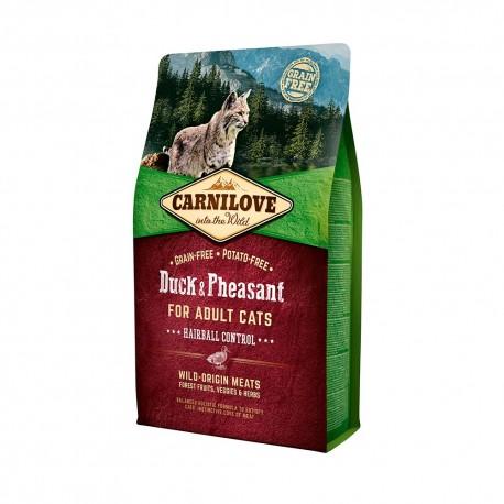 Carnilove chat canard hairball 2 Kg