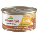Boite Almo Nature daily Grain free 85g dinde canard