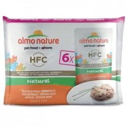 Pochons Almo Nature HFC poulet 6 X 55g