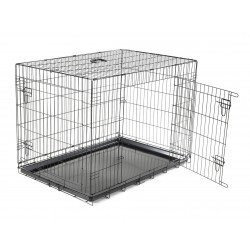 Cage de transport pliable chien 109X70X76cm