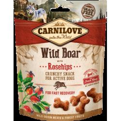 Friandise Carnidog crunchy sanglier 200g