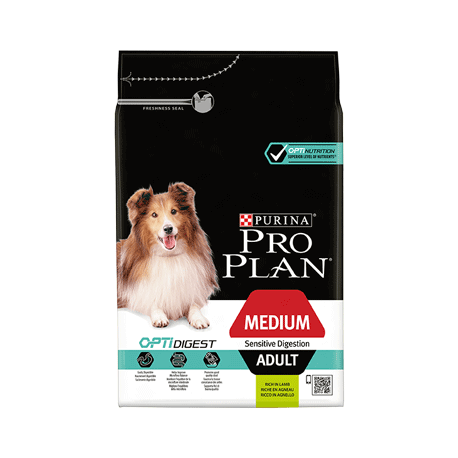 Pro plan Medium Adult Optidigest agneau 14 Kg