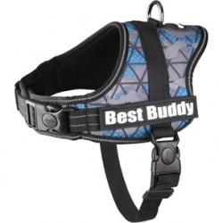 Harnais Best Buddy uranus bleu camouflage