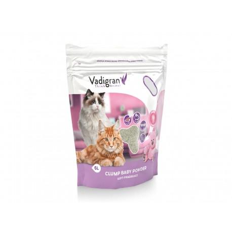 Litière Cat Litter Clump Babypowder 6 Kg