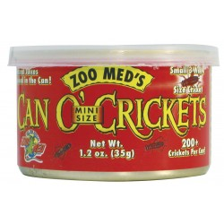 Nourriture Can'O'Mini crickets Zoomed 35g