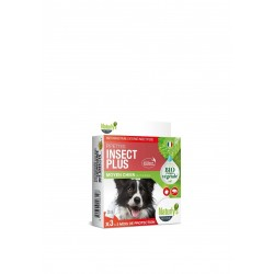 Pipettes X 3 Insect Plus Bio chien moyen