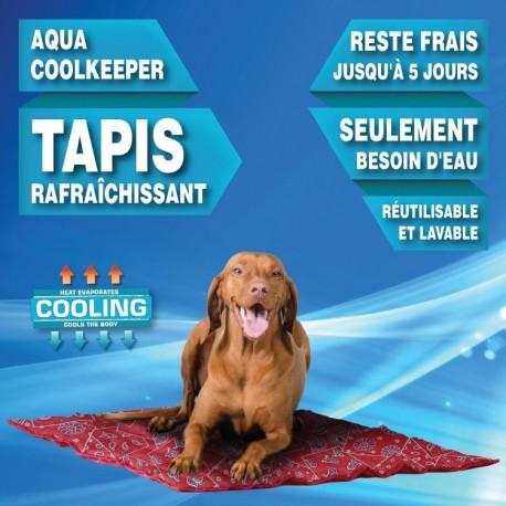 Tapis rafraichissant Cooling Mat 90 X 80 cm rouge