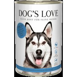Aliment en patée pour chien au poisson Dog's Love 800g