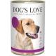 Aliment en patée pour chien à l'agneau Dog's Love 800g