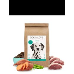 Croquettes pour chien au canard Dog's love 2 Kg