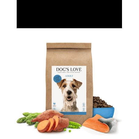 Croquettes pour chien au saumon Dog's love 2 Kg