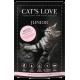 Aliment en patée pour chaton au poulet Cat's Love 85g