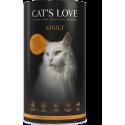 Croquettes pour chat à la dinde Cat's love 1 Kg