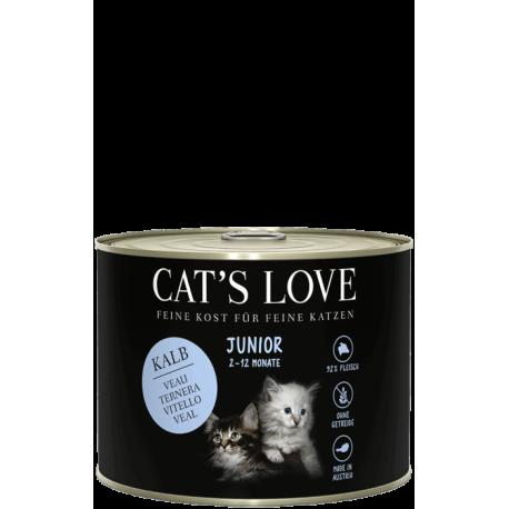 Pâtée complète pour chaton au veau Cat's love 200g