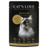 Aliment en patée pour chat senior au canard Cat's Love 85g