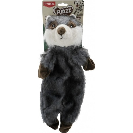 Peluche raton laveur Furry Skinneeez 50 cm