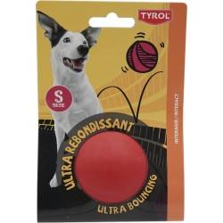Jouet chien balle rebondissante pleine 6.25 cm