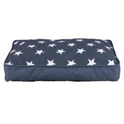 Coussin Stars 90X65 cm bleu foncé