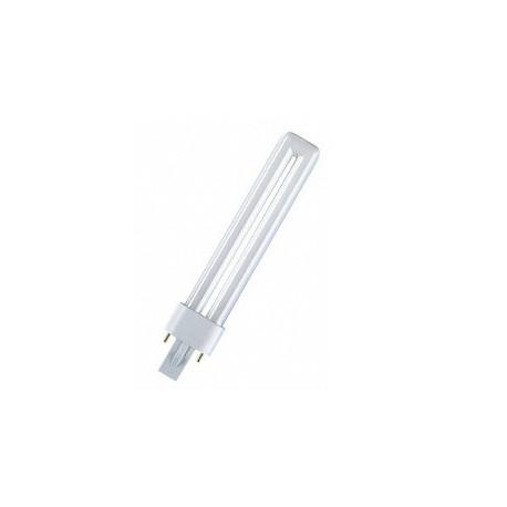 Ampoule fluocompact blanche