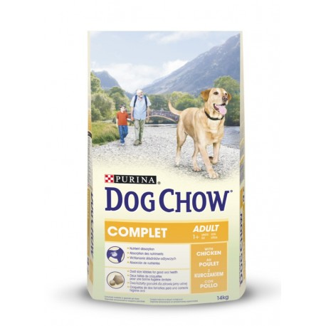 Dog chow complet chicken 14 Kg