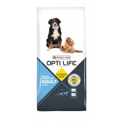 Opti-life Light Medium & Maxi Versele Laga 12.5 Kg