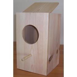 Nid en bois perroquet 23*26*40 cm IMOR