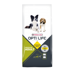 Opti-life Adult Medium Versele Laga 12.5 Kg