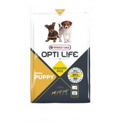 Opti life Puppy Mini Versele Laga - croquettes pour chiot de petite race - sac de 2.5 Kg