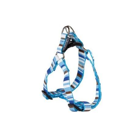 Harnais parachute bleu 15 mm 30/45 cm