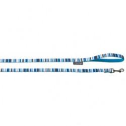 Laisse bleue 120 cm 20 mm