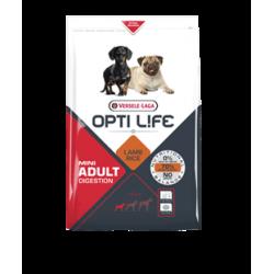 Opti life Digestion Mini Versele Laga - croquettes pour chien sensible de moins de 10 kg - sac de 2.5 Kg