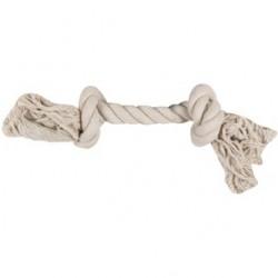 Corde coton 2 noeuds 22 cm