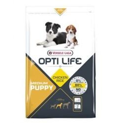 Opti life Puppy Medium Versele Laga - croquettes pour chiot de race moyenne - sac de 2.5 Kg