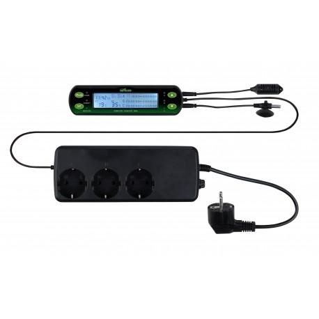 Thermostat/hygrostat digital 3 circuits