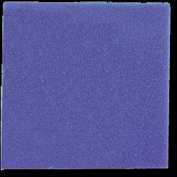 Plaque de mousse 50 X 50 X 2.5 cm maille grosse bleue
