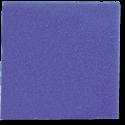 Plaque de mousse 50 X 50 X 5 cm maille grosse bleue