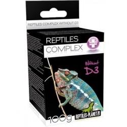 Vitamines sans D3 Reptiles planet 100g