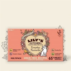Sélection gourmande Multipack Lily's kitchen 8 X 85g