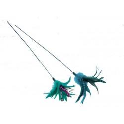 Canne à pêche pour chat 50cm