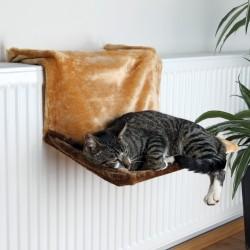 Hamac brun pour radiateur