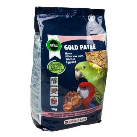 Orlux Gold patée grandes perruches et perroquets 1 Kg