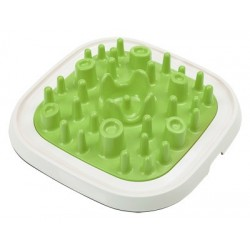 Savic Pet Enigma L vert - Gamelle anti glouton