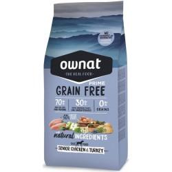 Ownat Prime grain free Senior 14Kg