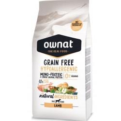 Ownat Hypoallergenic grain free Adult agneau 14Kg
