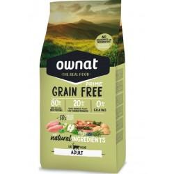 Ownat Prime grain free Adult 3 Kg - croquettes sans céréale pour chat