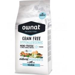 Ownat grain free Hypoallergenic Adult saumon 14Kg